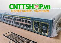 WS-C2960+24LC-S Cisco Catalyst 2960 Plus 24 10/100 (8 PoE) 2 T/SFP LAN Lite