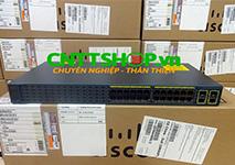 WS-C2960+24TC-S Switch Cisco 2960 Plus 24 Ports 10/100 + 2 T/SFP LAN Lite