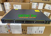 Switch Cisco WS-C2960+48PST-S 48 PoE  2x1GBaseT 2xSFP LAN Lite