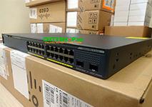 WS-C2960X-24PD-L Cisco Catalyst 2960X Stackable 24 Port GE, 2 SFP+ LAN Base