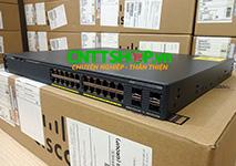 WS-C2960X-24PS-L Cisco Catalyst 2960X Stackable 24 GE PoE+ 370W, 4 SFP, LAN Base