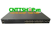 WS-C2960XR-24TS-I Cisco Catalyst 2960XR Stackable 24 GigE, 4 SFP, IP Lite