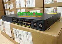 WS-C2960X-24TS-L Cisco Catalyst 2960X Stackable 24 Ports GE, 4 SFP, LAN Base