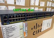 WS-C2960X-48LPS-L Cisco Catalyst 2960X Stackable 48GE PoE+ 370W, 4 SFP, LAN Base