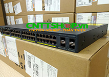 WS-C2960X-48TS-L Cisco Catalyst 2960X Stackable 48 Ports GE, 4 x 1G SFP, Lan Base