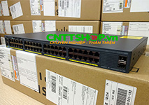 WS-C2960X-48TS-LL Cisco Catalyst 2960X 48 Ports GE, 2 SFP Slot, LAN Lite