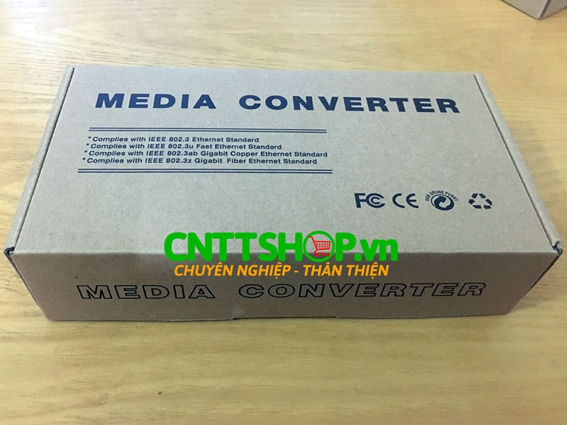 PRO-110S-20A Media Converter 10/100M, SMF, TX1310/RX1550 nm, 20KM | Image 5