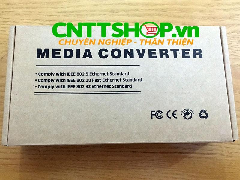 PRO-210S-20B Media Converter  10/100/1000, SMF, TX1550/RX1310nm, 20KM | Image 4