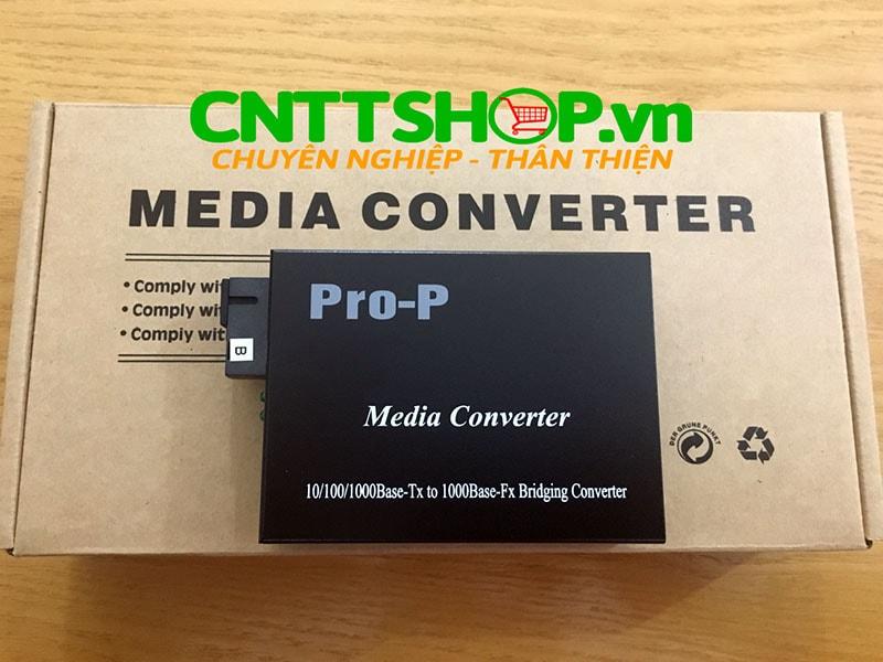 PRO-210S-20B Media Converter  10/100/1000, SMF, TX1550/RX1310nm, 20KM | Image 6