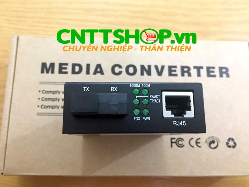 PRO-210S-20B Media Converter  10/100/1000, SMF, TX1550/RX1310nm, 20KM | Image 1