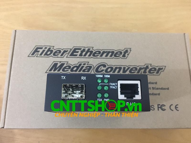 PRO-220-SFP Media converter 10/100/1000M và SFP Slot | Image 2