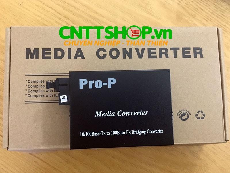 PRO-110S-20B Media Converter  10/100M, SMF, TX1550/RX1310nm, 20KM | Image 3
