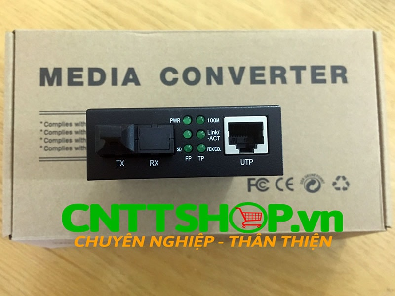 PRO-110S-20B Media Converter  10/100M, SMF, TX1550/RX1310nm, 20KM | Image 5