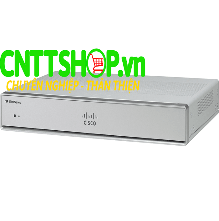 Cisco ISR C1111-4P 4-Port Dual GE WAN Ethernet Router