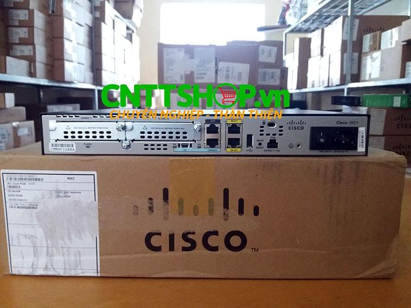 Cisco1921DC/K9 Cisco 1921 Integrated Services Router | Image 6