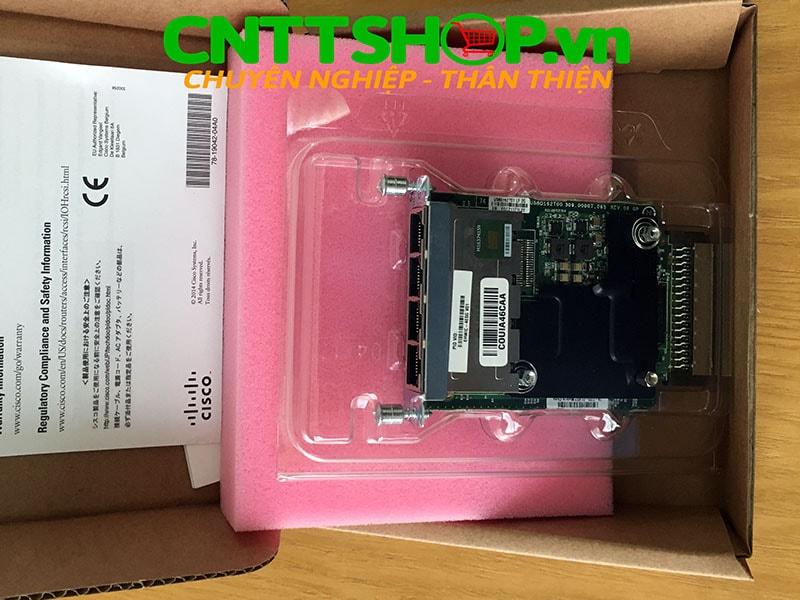 EHWIC-4ESG-P Cisco 4 Port PoE 10/100/1000BASE-TX Autosensing   Image 3
