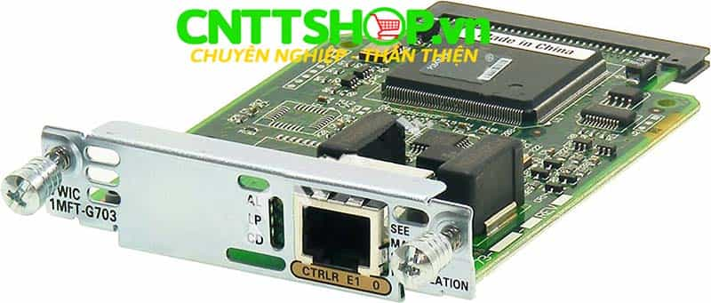 VWIC3-1MFT-G703= 1 Port G.703 Multiflex Trunk Voice/WAN Interface Card
