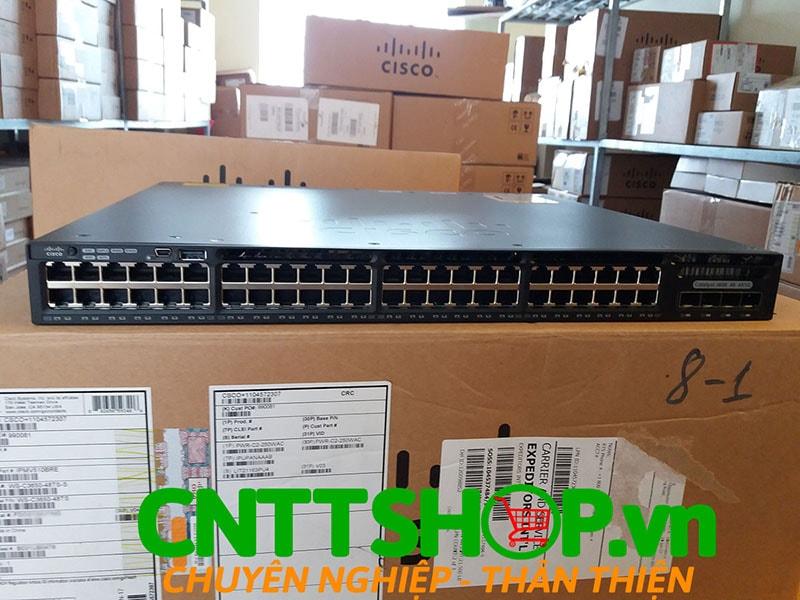 Switch Cisco WS-C3650-48TS-S Catalyst 3650 48 ports 1G 4x1G Uplink IP Base | Image 1