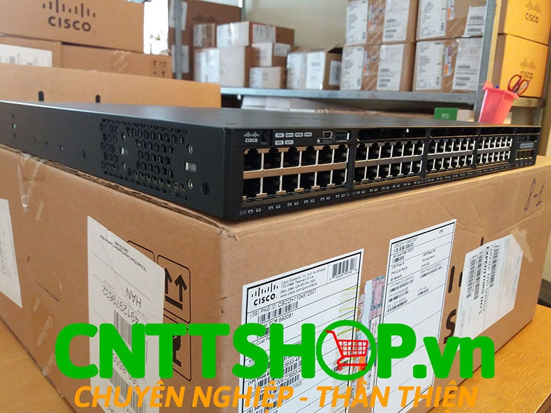 Switch Cisco WS-C3650-48TS-S Catalyst 3650 48 ports 1G 4x1G Uplink IP Base | Image 5