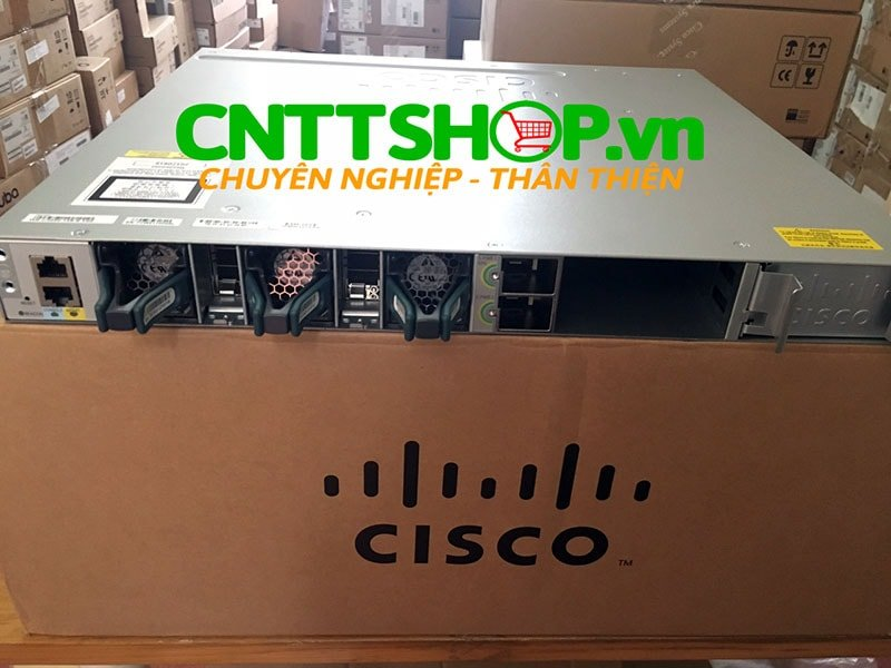 Switch Cisco WS-C3850-12S-E Stackable 12 SFP Ports IP Services | Image 4