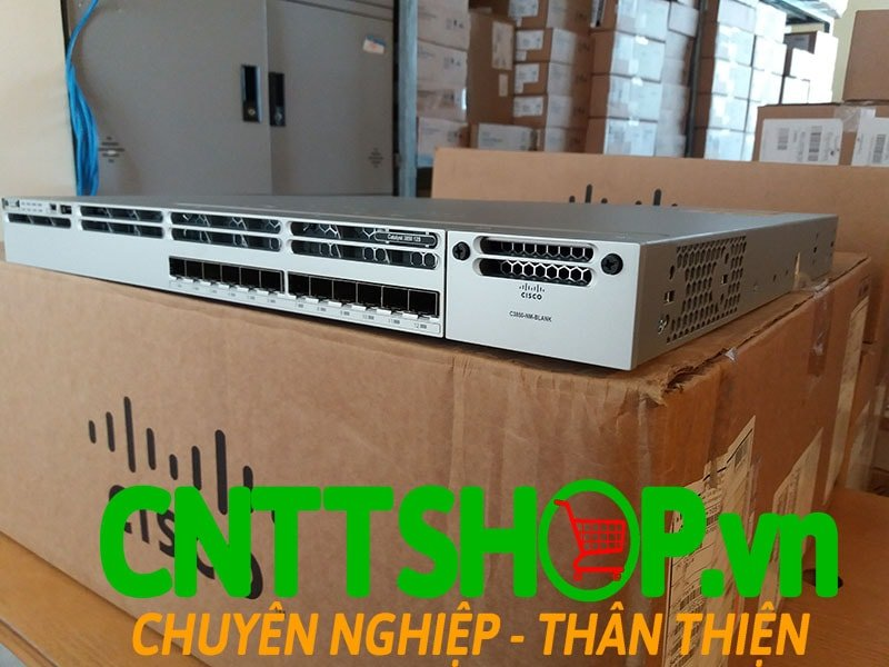 Switch Cisco WS-C3850-12S-S Stackable 12 SFP Ports IP Base | Image 7