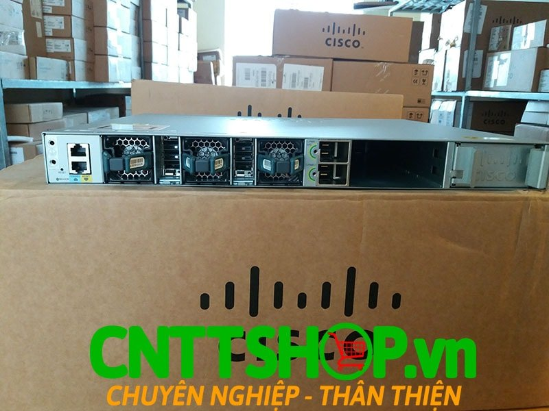 Switch Cisco WS-C3850-12S-S Stackable 12 SFP Ports IP Base | Image 6