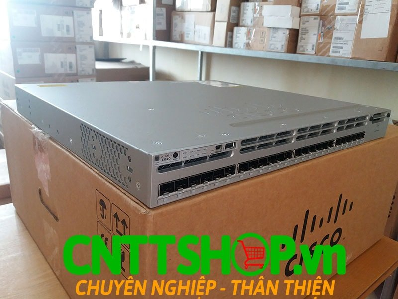 Switch Cisco WS-C3850-24S-S Stackable 24 SFP Ports IP Base | Image 4