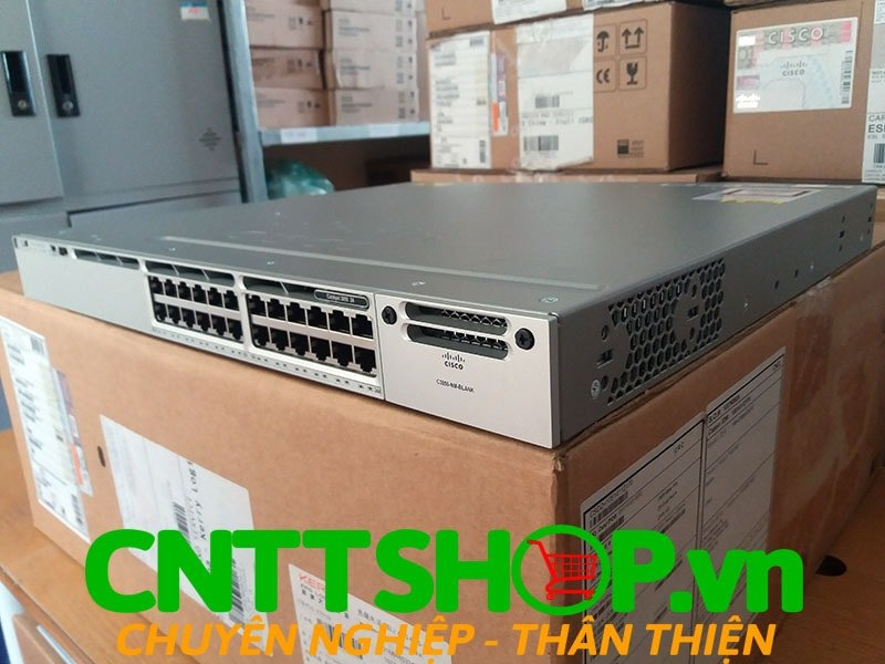 Switch Cisco WS-C3850-24T-E Catalyst 3850 24 Port Data IP Services | Image 4