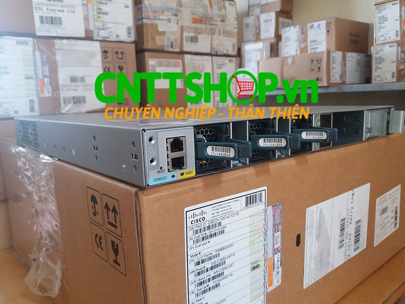 Switch Cisco WS-C3850-24T-E Catalyst 3850 24 Port Data IP Services | Image 5