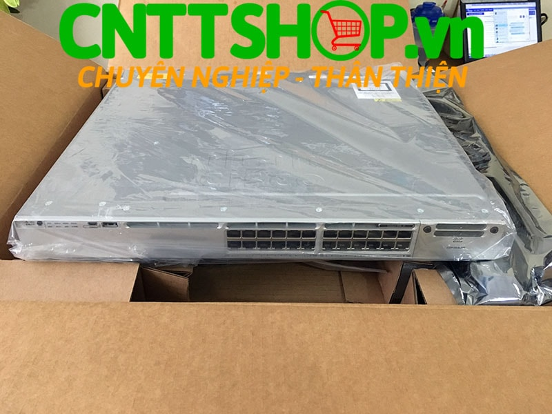 Switch Cisco WS-C3850-24T-S Catalyst 3850 24 Port Data IP Base | Image 1