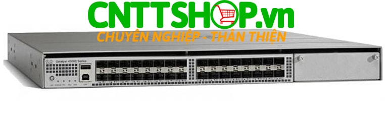Switch Cisco WS-C4500X-F-32SFP+ Catalyst 4500-X 32 Port 10GE IP Base, Back-to-Front Cooling, No P/S