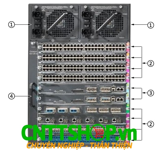 Switch Cisco WS-C4510R+E