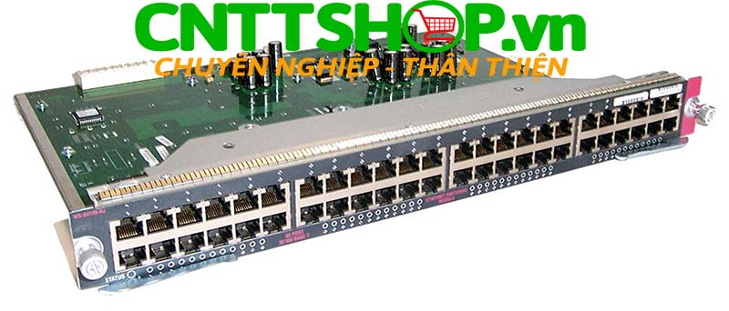 WS-X4148-RJ Cisco Catalyst 4500 10/100 Module, 48 Ports (RJ-45) Switching module