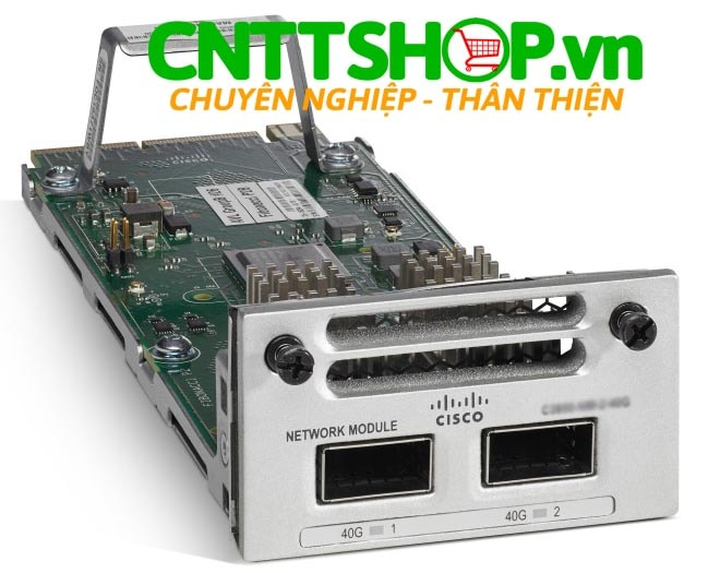 Cisco C9300-NM-2Q Catalyst 9300 2 x 40GE Network Module