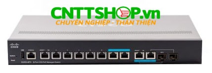 Switch Cisco SG350-8PD-K9-EU (SG350 8PD) 8 10/100/1000 ports, 2 2.5G ports, 2 combo mini-GBIC ports