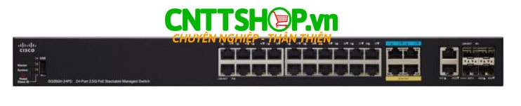Switch Cisco SG350X-24PD-K9-EU