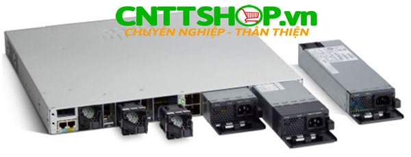 Cisco PWR-C1-715WDC 715W DC Catalyst 3650 3850 9300 Series Spare Platinum-rated Power Supply