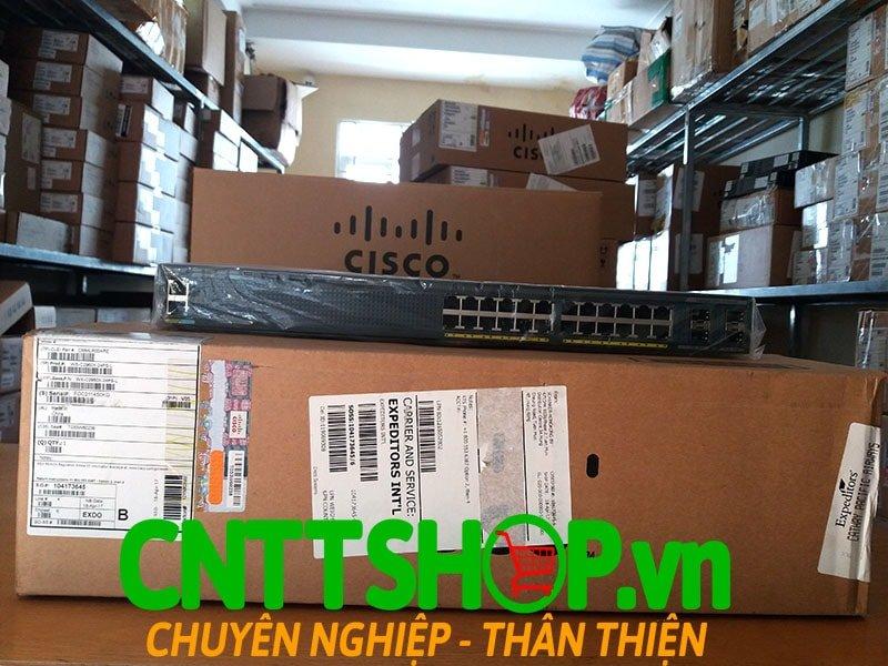 Switch Cisco WS-C2960X-24PS-L 24 GigE PoE 370W, 4 x 1G SFP, LAN Base | Image 4