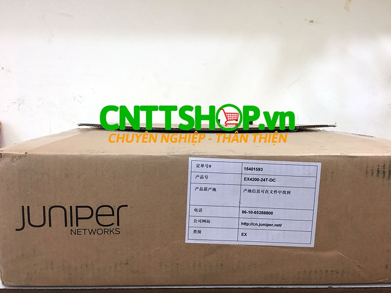 EX4200-24T-DC switch Juniper 24-port 10/100/1000BaseT 190W DC PS | Image 4