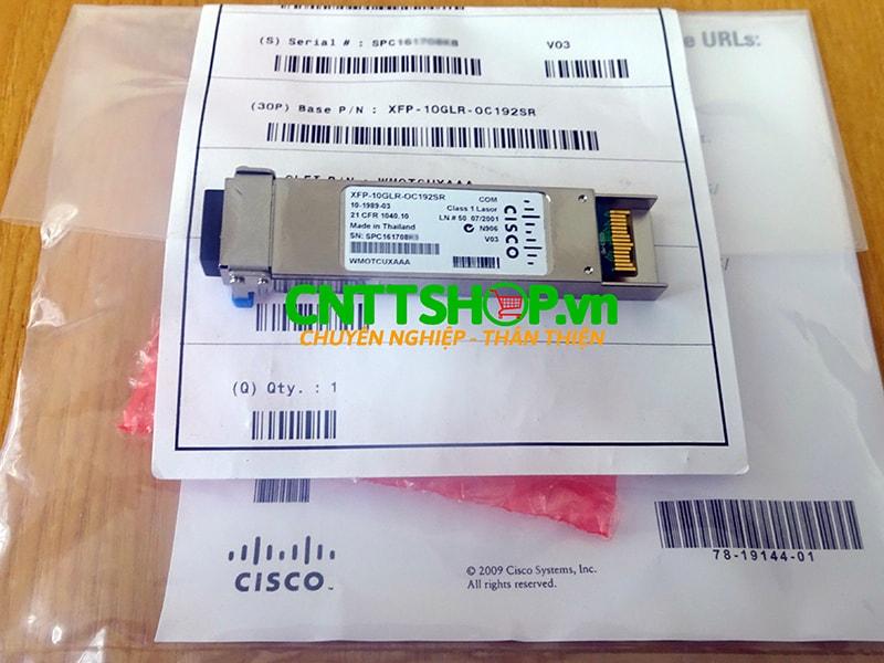 Module quang Cisco XFP-10GLR-OC192SR XFP SMF 1310-nm LC Duplex 10km | Image 5