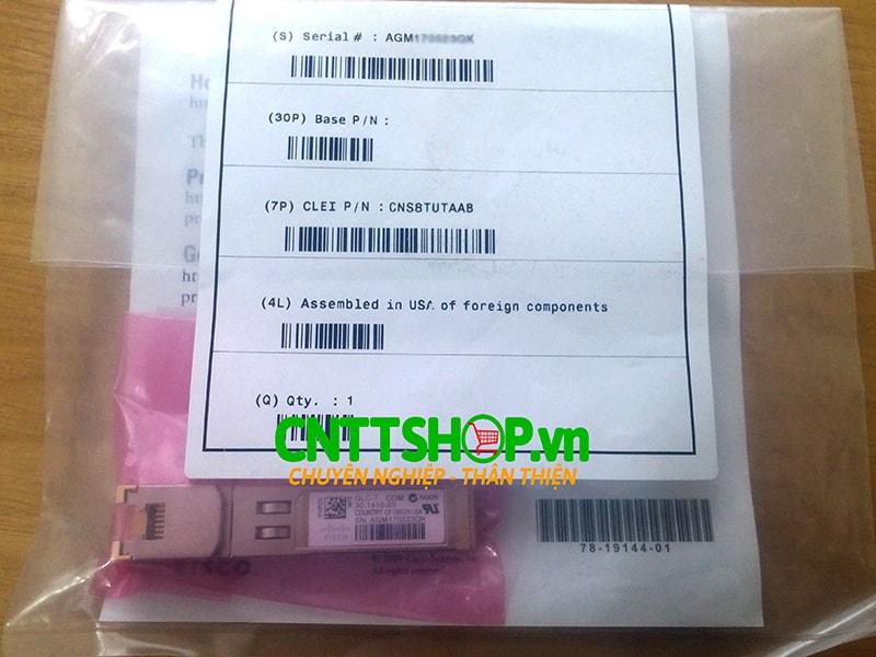 Module quang Cisco GLC-T SFP 1GBASE-T Transceiver RJ-45 100m giá tốt | Image 2