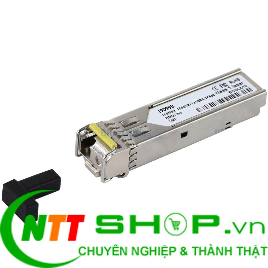 Module quang HPE J9099B X112 100M SFP LC BX-D 1550nm 10km Single LC Single mode Transceiver