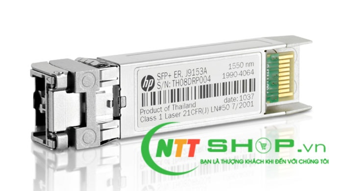 Module quang HPE J9153A X132 10GBASE-ER SFP+ LC Duplex 1550nm 40km Single Mode Transceiver