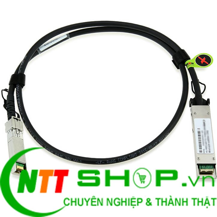 Module quang HPE J9300A 10G X244 XFP to SFP+ 1m Direct Attach Copper Cable