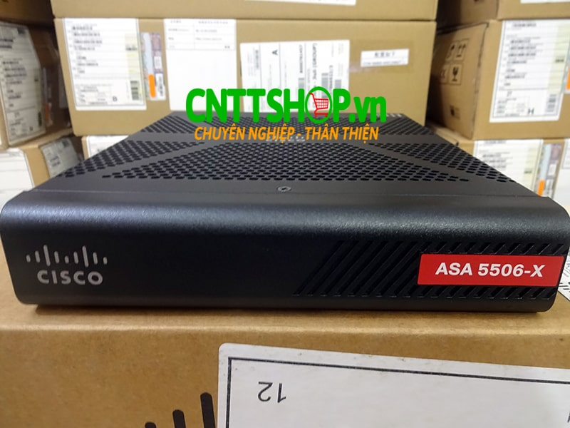 ASA5506-K9 Cisco ASA 5506-X with FirePOWER services, 8GE Data, 1GE Mgmt, AC, 3DES/AES | Image 1