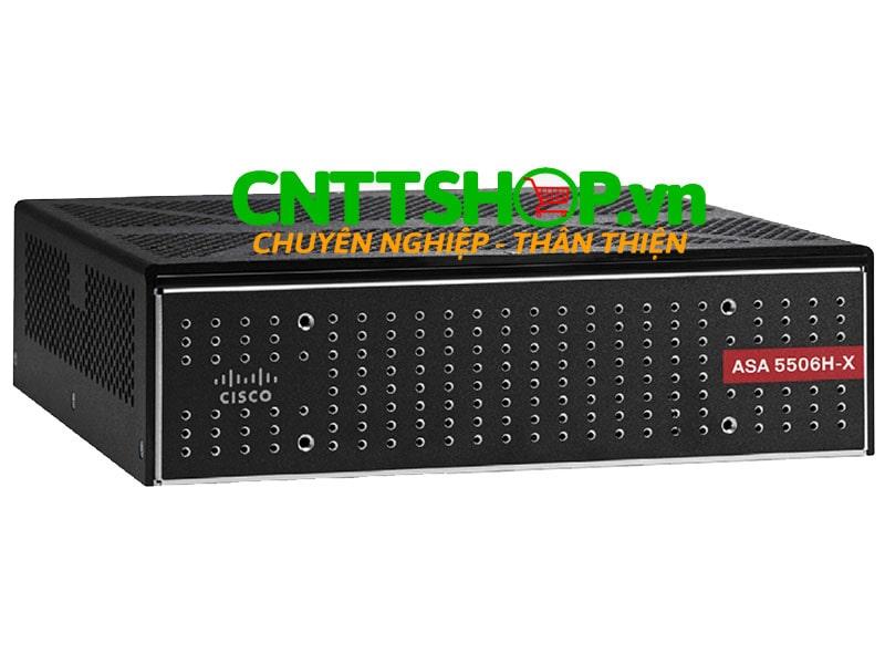ASA5506H-SP-BUN-K8 Cisco ASA 5506H-X with FirePOWER SEC Plus, 4GE Data, DES | Image 1