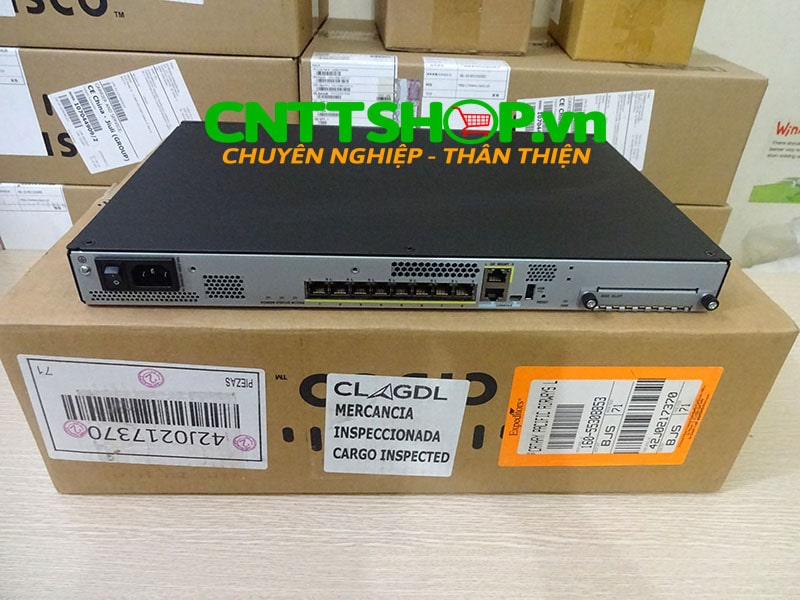 ASA5508-K9 Cisco ASA 5508-X with FirePOWER services, 8GE Data, 3DES/AES | Image 7