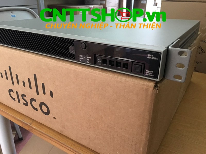 ASA5512-FPWR-K9 Cisco ASA 5512-X with FirePOWER Services, 6GE, 3DES/AES, SSD | Image 1