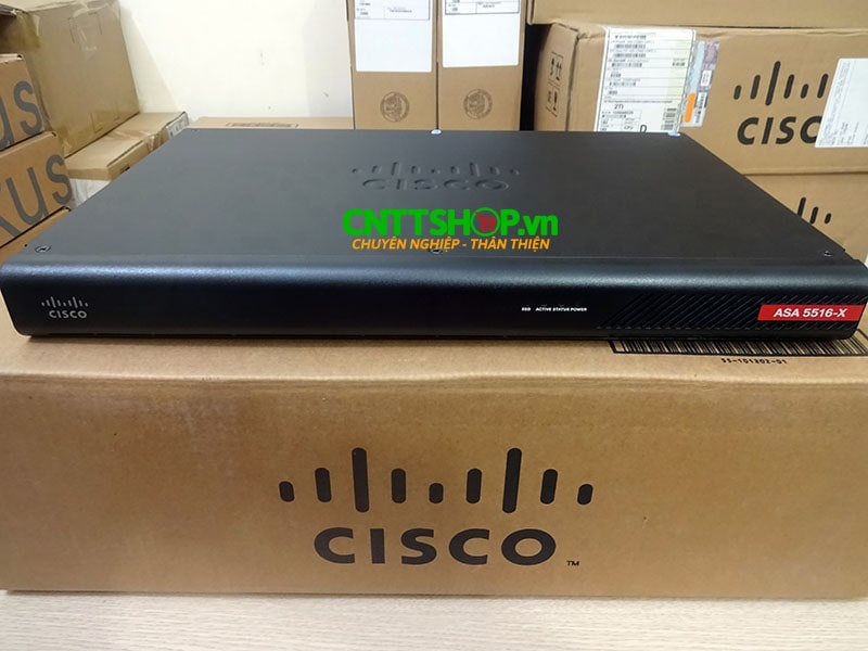 ASA5516-FPWR-K9 Cisco ASA 5516-X with FirePOWER services, 8GE Data, 3DES/AES | Image 1
