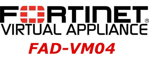 FAD-VM04 Fortinet FortiADC-VM04 Software Virtual Appliance, Supports up to 4x vCPU core